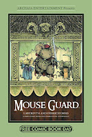 Mouse Guard FCBD Cover