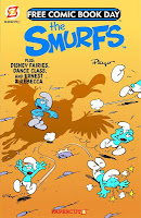 The Smurfs / Ernest & Rebecca / Tinker Bell / Dance Class FCBD 2012 Cover