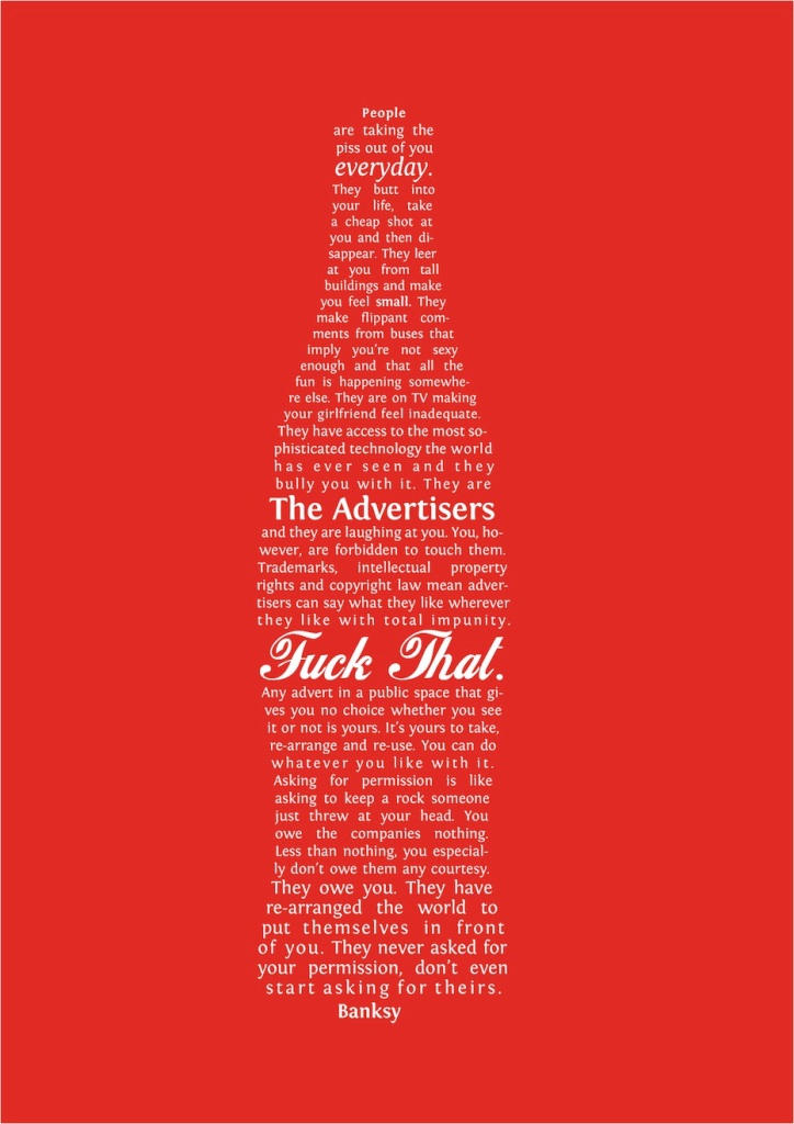 Banksy The Coke Ad