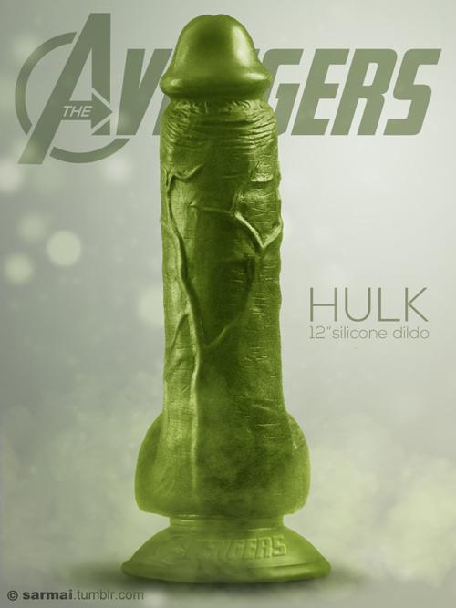 Hulk Silikon-Dildo by Balazs Sarmai